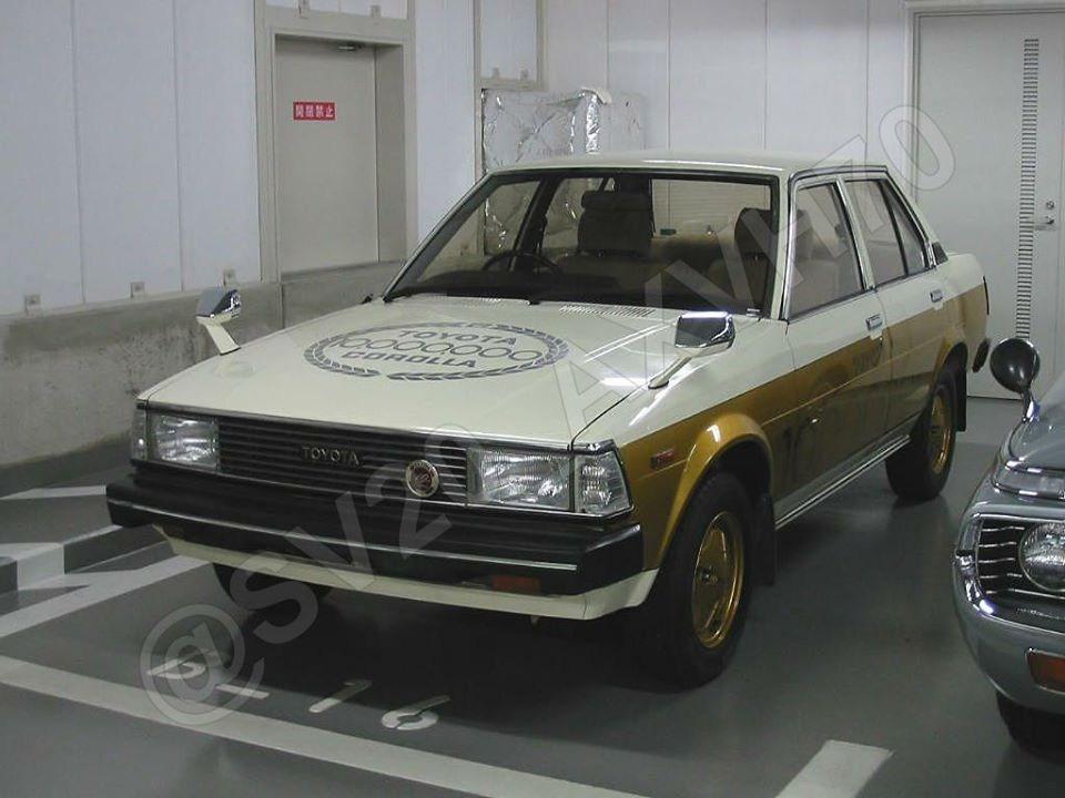 10 millionth Corolla Toyota 1979