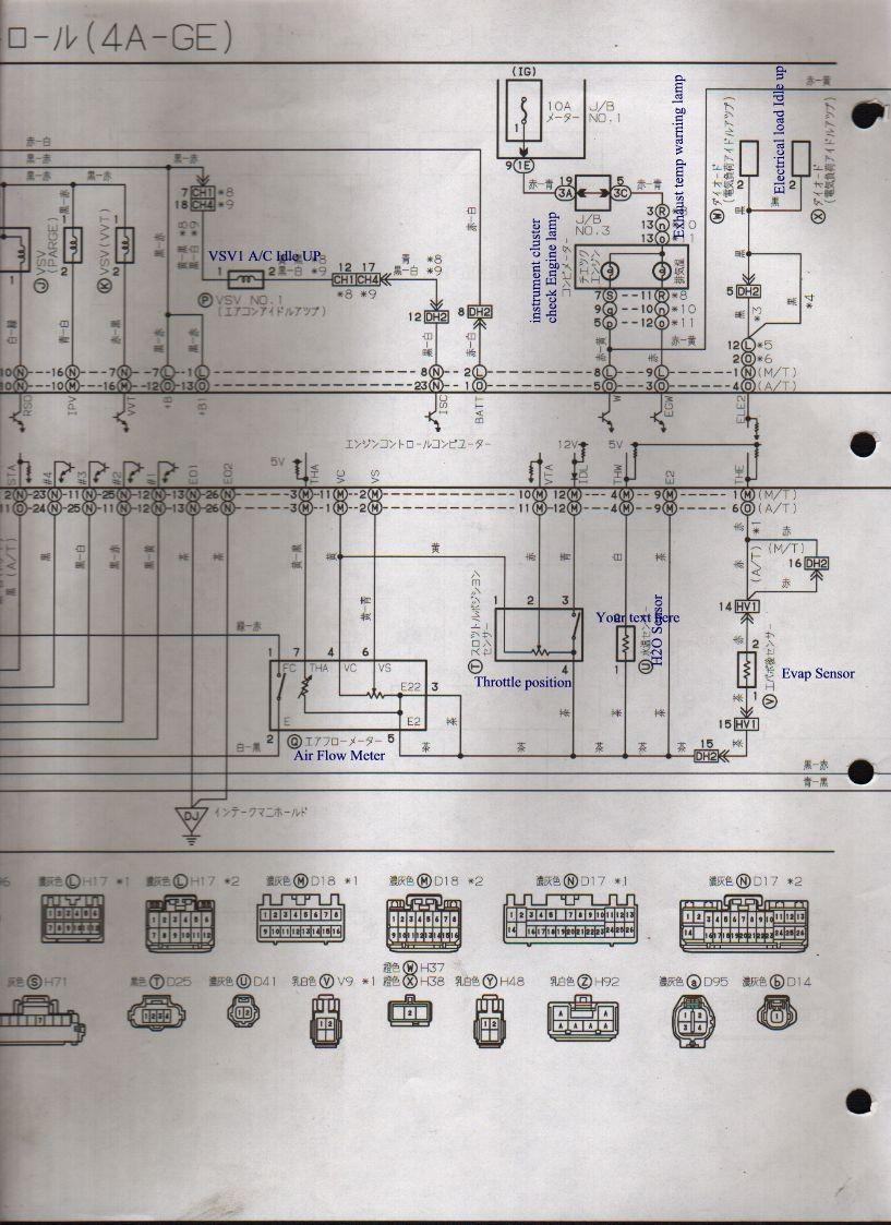 Usdm 4age Wiring Diagram 24 Images Ae86 Issues Ae101 4a Ge 20v Ecua Japan