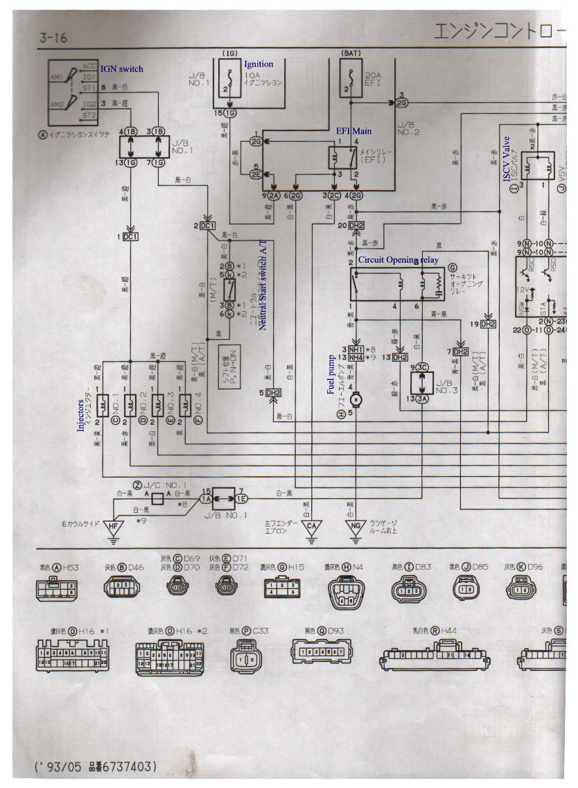 20v Wiring Diagram Library Harness Identification 4a Ge Japan Silver Top Ae101 Ecu Pin Club4ag House Diagrams