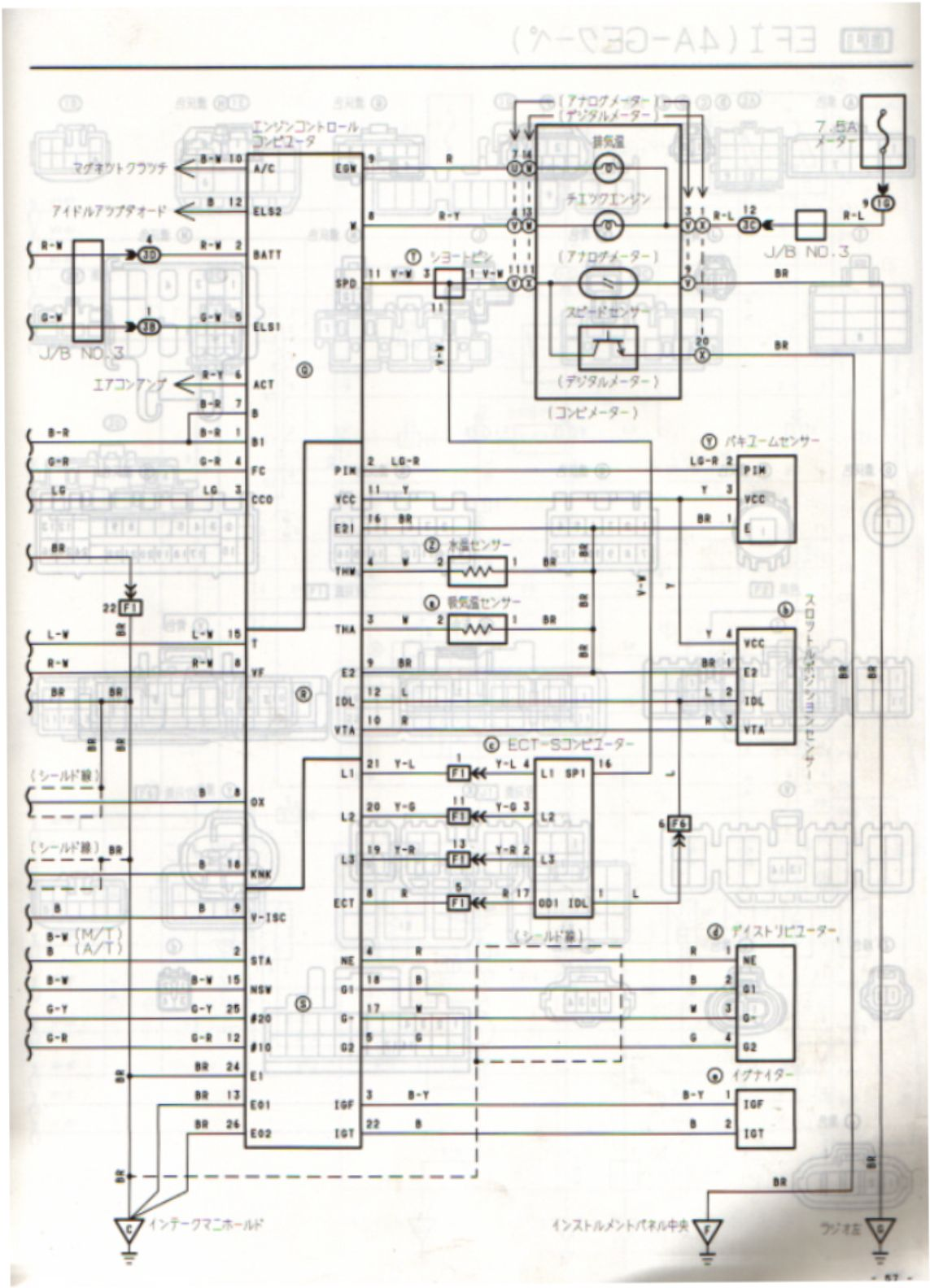 Usdm 4age Wiring Diagram 24 Images Auto Electrical Schematic Diagrams Ae92 Japan Late Ecub 4a Ge 16v Non Tvis Ecu Pin Identification Club4ag